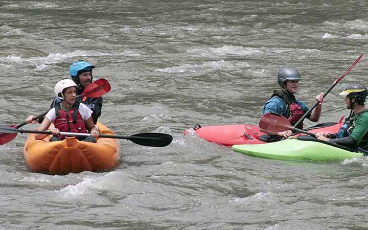 kayaking-river