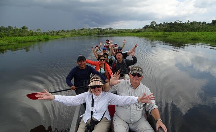 manatee-canoe