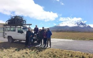 Antisana Volcano and Quilotoa Biking in 2 Days