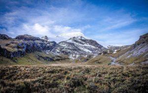 Climbing Cayambe and Aclimatization