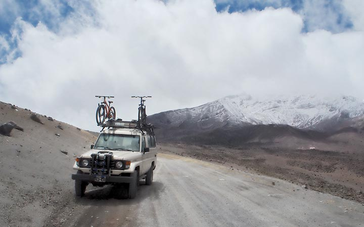 chimborazo-biking-road