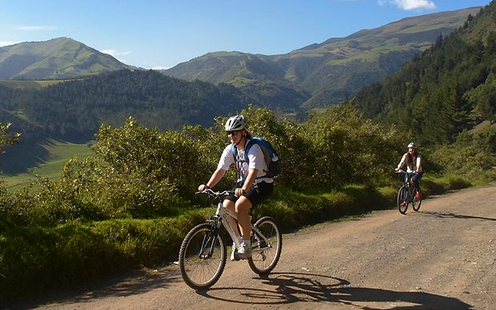 Papallacta Biking Tour