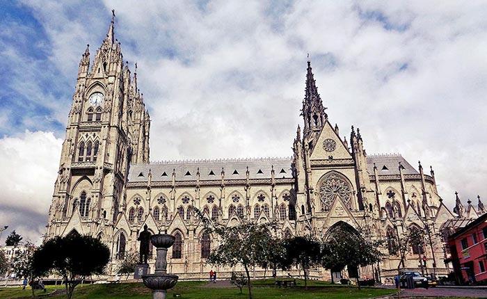quito, basilica, churche, gotic, medieval